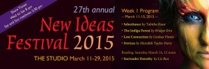 New Ideas Festival at Alumnae Theatre